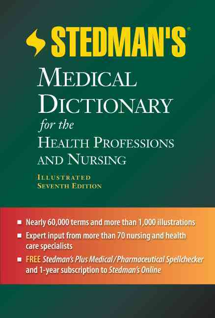 Stedman's Medical Dictionary for the Health Professions and Nursing By Steadman's (COR)